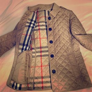 Burberry Ashurst Quilted Jacket Sz. S P